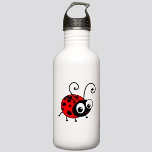 Cute Ladybug Stainless Water Bottle 1.0L