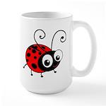 Cute Ladybug Large Mug