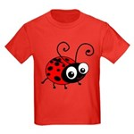 Cute Ladybug Kids Dark T-Shirt