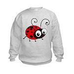 Cute Ladybug Kids Sweatshirt