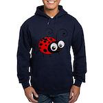 Cute Ladybug Hoodie (dark)