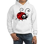 Cute Ladybug Hooded Sweatshirt