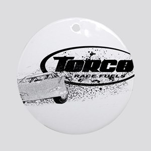 Late Model Racing Ornament (Round)