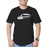 Late Model Racing Men's Fitted T-Shirt (dark)