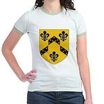 Crestina's Jr. Ringer T-Shirt