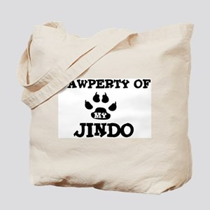 Pawperty: Jindo Tote Bag