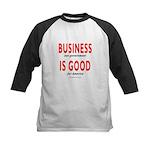 Business Good Kids Baseball Jersey