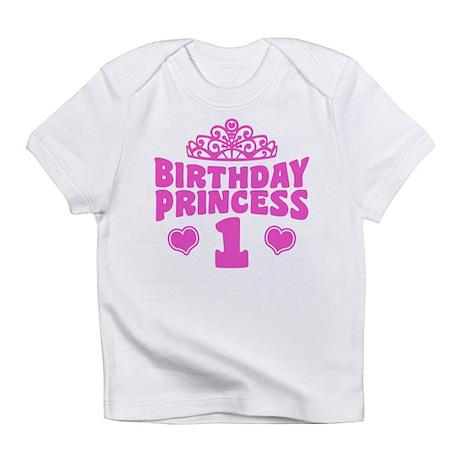 1st Birthday Princess Infant T-Shirt