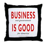 Business Good Throw Pillow