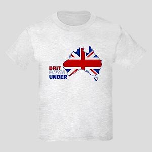 Brit down under Kids Light T-Shirt