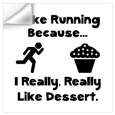 Running Dessert Wall Art Wall Decal
