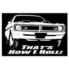 How I Roll - Dodge Demon Wall Art Poster