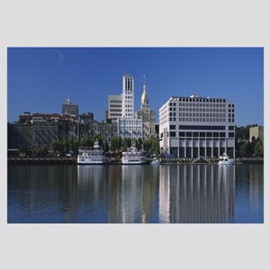 Buildings at the waterfront, Savannah River, Georg