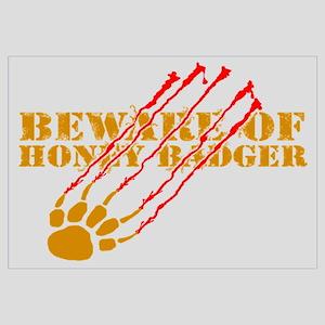 New SectionBeware of honey ba Wall Art