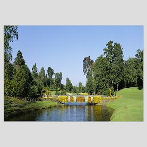 Bridge over a lake, Bellingrath Gardens and Home,