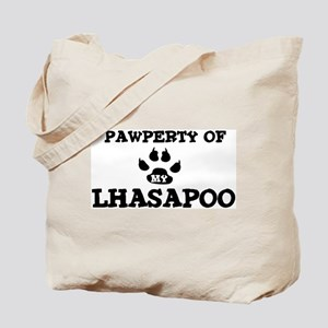 Pawperty: Lhasapoo Tote Bag