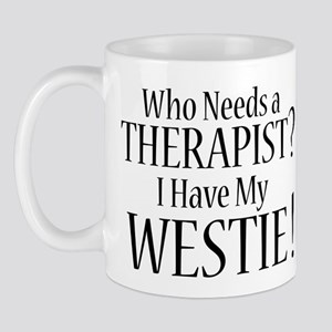 THERAPIST Westie Mug