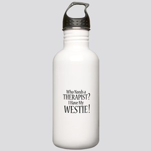 THERAPIST Westie Stainless Water Bottle 1.0L