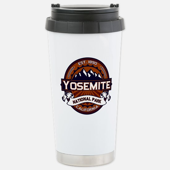 Yosemite Vibrant Stainless Steel Travel Mug