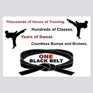 ONE Black Belt 1 Wall Art