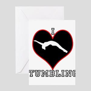 I Love Tumbling Greeting Card