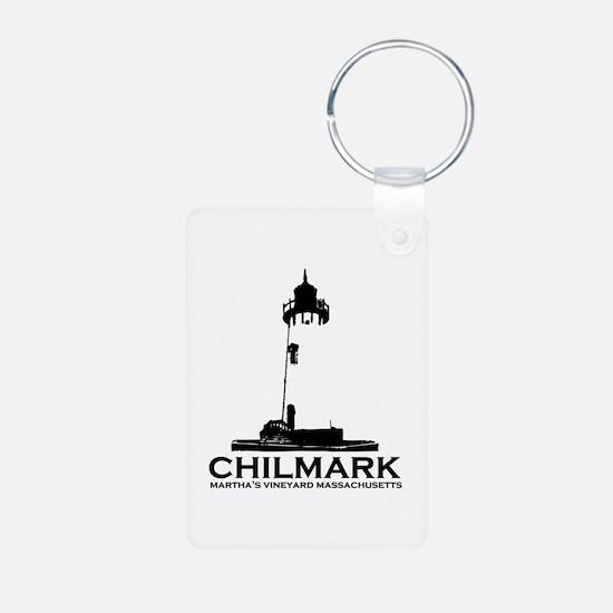 "Chilmark MA ""Lighthouse"" Design. Keychains"
