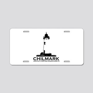 "Chilmark MA ""Lighthouse"" Design. Aluminum License"