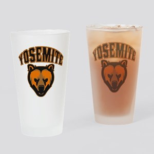 Yosemite Bear Face Drinking Glass