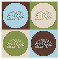Neuroscience Pop Art Wall Art Poster