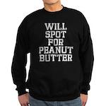 Will spot for peanut butter Sweatshirt (dark)
