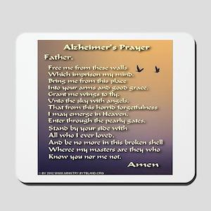 Alzheimer's Prayer Mousepad