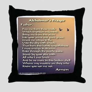 Alzheimer's Prayer Throw Pillow