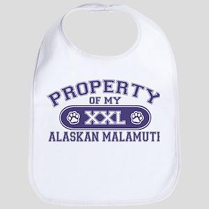 Alaskan Malamute PROPERTY Bib