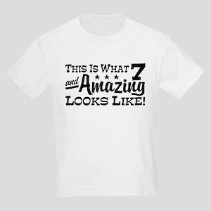 7 Year Old Kids Light T-Shirt