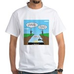 KNOTS GPS White T-Shirt