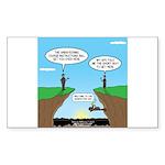 KNOTS GPS Sticker (Rectangle)