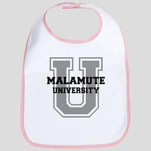 Malamute UNIVERSITY Bib