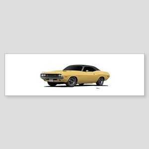 1970 Challenger Cream Sticker (Bumper)