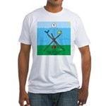 Weather Rock Flood Fitted T-Shirt