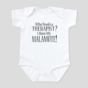 THERAPIST Malamute Infant Bodysuit