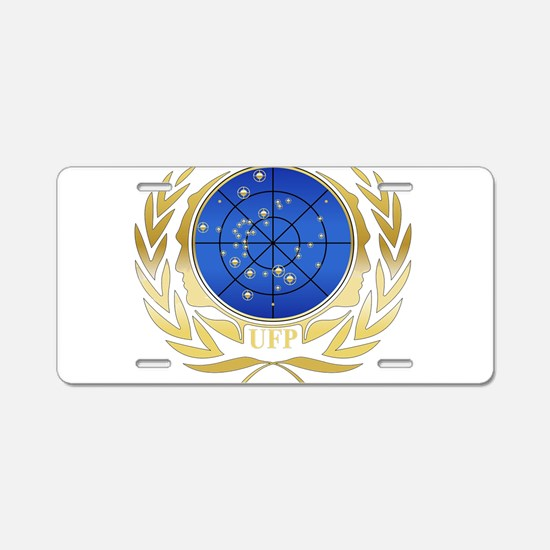 UFP Seal Gold Aluminum License Plate