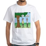 KNOTS Staff Hunt Camp Games White T-Shirt