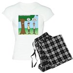 KNOTS Staff Hunt Camp Games Women's Light Pajamas