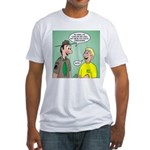 Chaplain's Aide Question Fitted T-Shirt