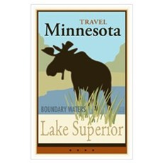 Travel Minnesota Wall Art Poster