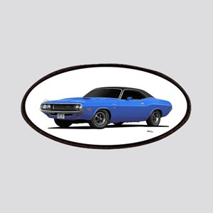 1970 Challenger Light Blue Patches