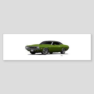 1970 Challenger Light Green Sticker (Bumper)