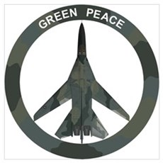 FB-111A Peace Sign Wall Art Poster