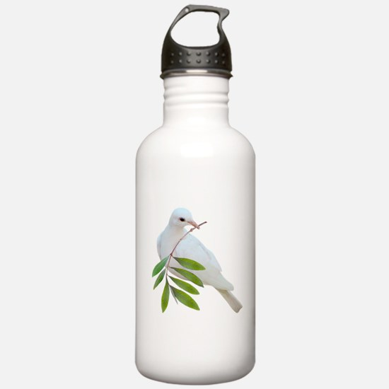 Dove Olive Branch Water Bottle