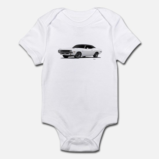 1970 Challenger White Infant Bodysuit